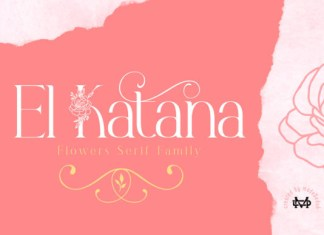 El Katana Font