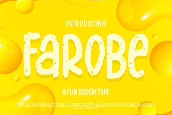 Farobe Font