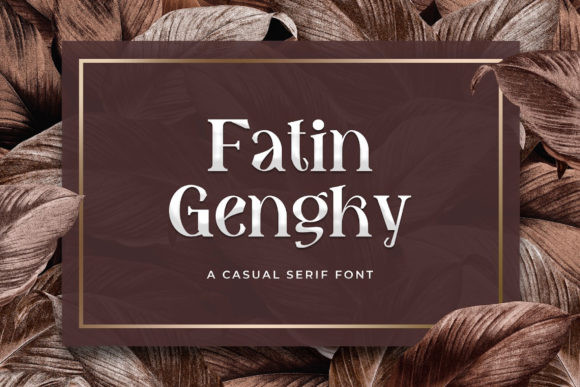 Fatin Gengky Font