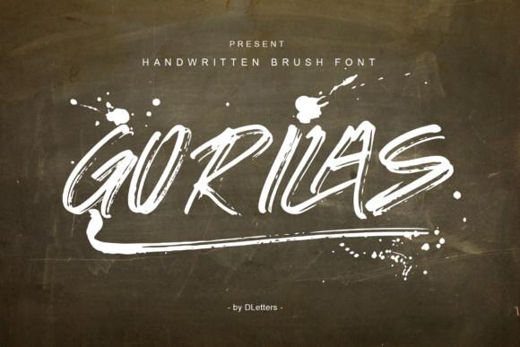 Gorilas Font