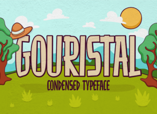 Gouristal Font