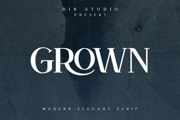 Grown FontGrown Font