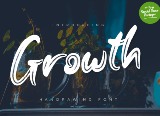 Growth Font