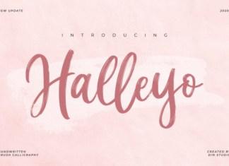 Halleyo Font