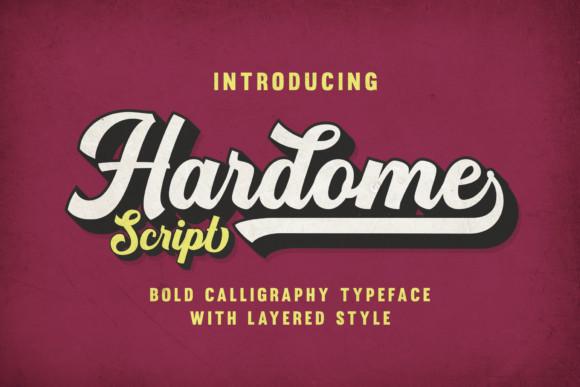 Hardome Font