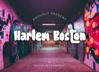 Harlem Boston Font