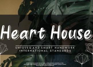 Heart House Font