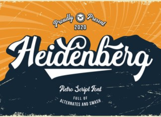 Heidenberg Font