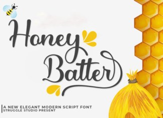 Honey Batter Font