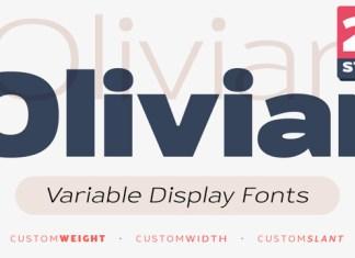 Oliviar Expanded Font