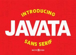 Javata Font