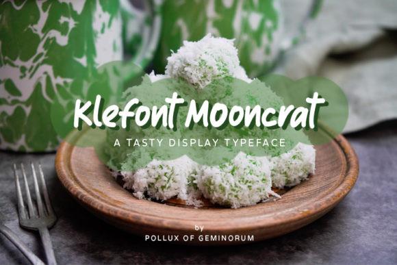 Klefont Mooncrat Font
