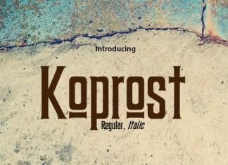 Koprost Font