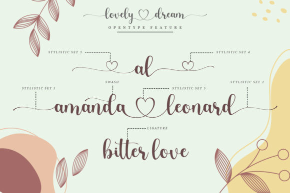 Lovely Dream Font
