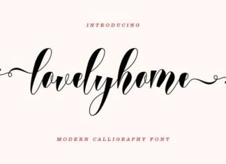 Lovelyhome Font