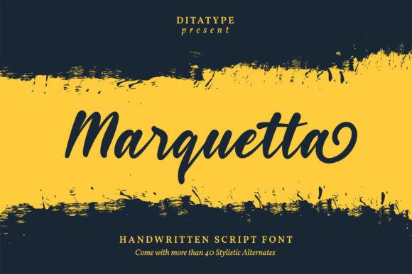 Marquetta Font