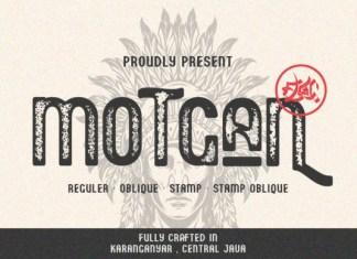 Motgan Font