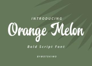 Orange Melon Font