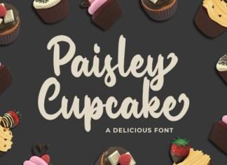 Paisley Cupkace Font