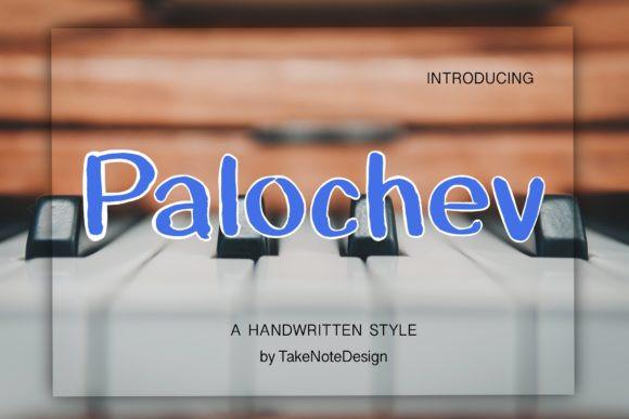 Palochev Font
