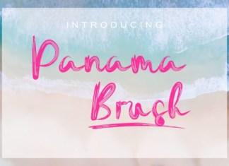 Panama Brush Font