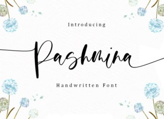 Pashmina Font