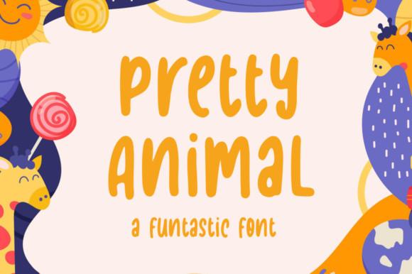 Pretty Animal Font