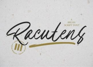 Racutens Font