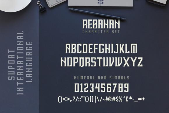 Rebahan Font