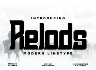 Relods Font