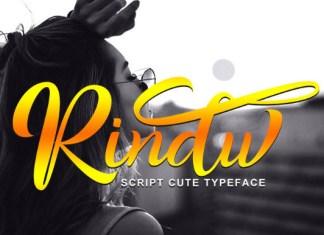 Rindu Font