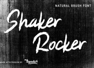 Shaker Rocker Font