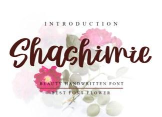 Shashimie Font