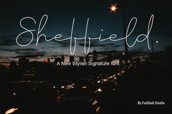 Sheffield Font