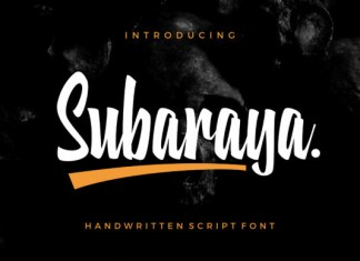 Subaraya Font