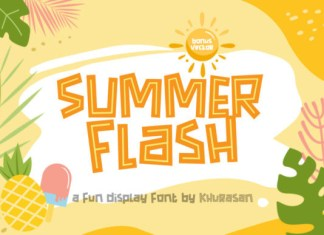Summer Flash Font
