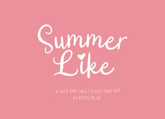 Summer Like Font
