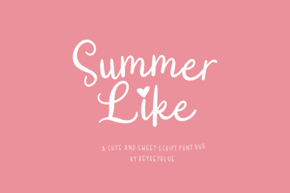 Summer Like Font