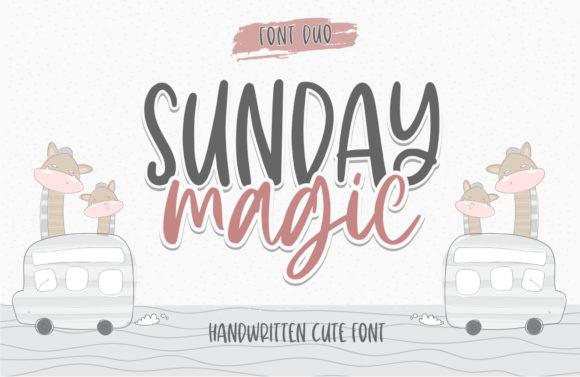 Sunday Magic Font