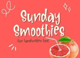 Sunday Smoothies Font