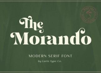 The Morando Font