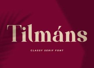 Tilmans Font
