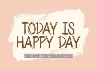 Today is Happy Day Font