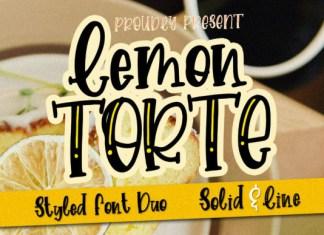 Lemon Torte Font
