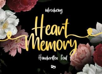 Heart Memory Font