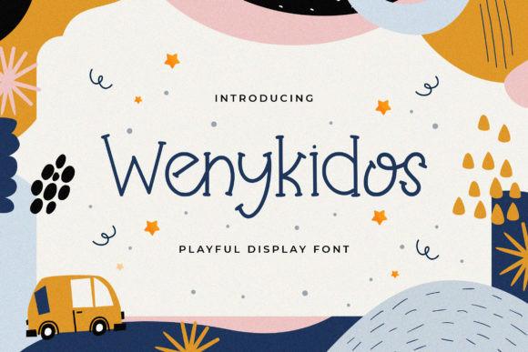 Wenykidos Font