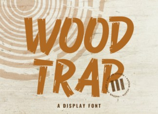 Wood Trap Font
