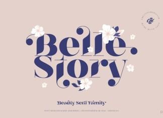 Belle Story Font