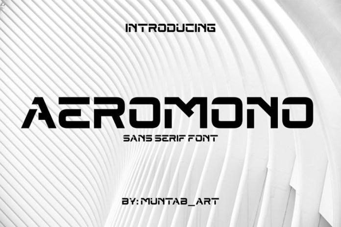 Aeromono Font