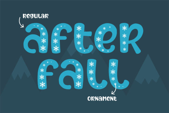 After Fall Font